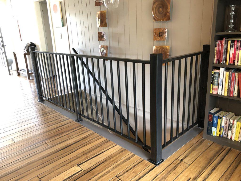 Interior guardrail and handrail